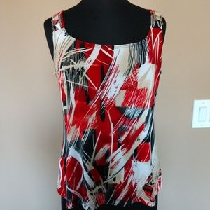 Tops - Picadilly multi color Top with silver hardware